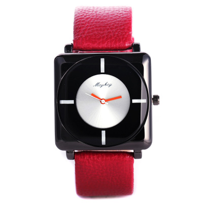 New Fashion Square dial Sport Women Watches Creative leisure Brand Luxury Leather Quartz Watch Ladies Wrist Chasy Holiday Gift lvpai top brand watches women fashion luxury leather strap watch blue constellations dial creative clock sport quartz watch gift
