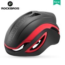 ROCKBROS 2019 Helm Sepeda Pria Wanita Secara Integral Dibentuk Ultralight Pneumatik Helm Sepeda Bersepeda MTB ROAD Hiu Aero Helm