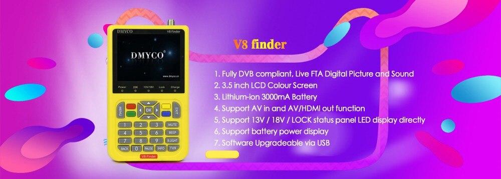 1 DMYCO V8 finder