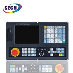 Meilleur prix 2 axes CNC tour contrôleur nouvelle version CNC 990TDb anglais panneau anglais logiciel