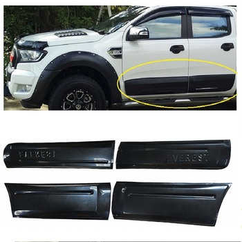 CITYCARAUTO DOOR MOULDING CADLING PLATE COVER BODY KITS ACCESSORIES FIT FOR EVEREST 2015-2017 CAR EXTERIOR COVERS ACCESSORIES