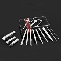 15 in 1 manicure set professional nail scissors nail clippers nail art beauty tool scissors knife best for your gift A0A00111XX