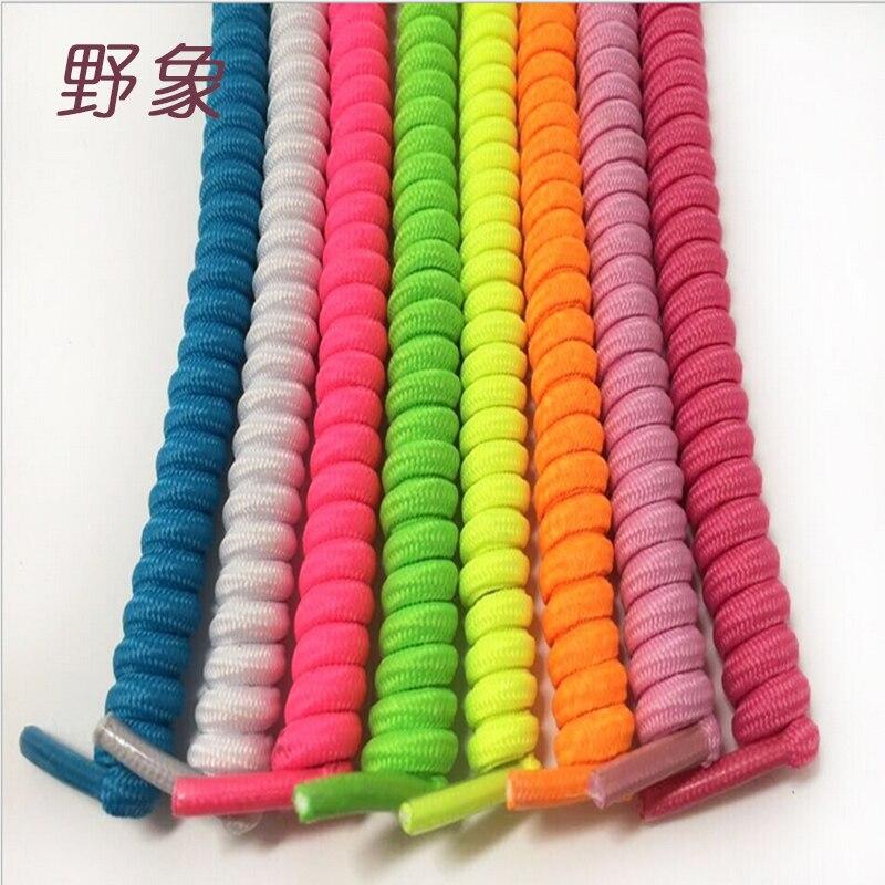 High elastic  lazy shoelaces nylon solid shoelaces no tie shoelaces for women /children for sports