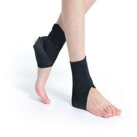 1 pair auto-calefacción turmalina rayo infrarrojo lejano terapia magnética Tobilleras brace massager alivio del dolor tobillo cinturón cuidado de los pies