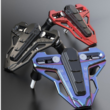 Аксессуары для мотоциклов Модифицированная защита двигателя скутер декоративная крышка тормозного насоса передняя крышка дискового тормозного насоса