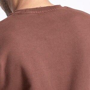Image 3 - SIMWOOD 2020 spring New Hoodies Men Fashion Vintage Sweatshirts Plus Size Brand Clothing 100% Cotton Pullovers Streetwear 180611