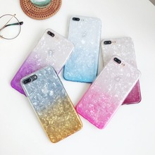 Gradient Shell Silicone Phone Case for Samsung Galaxy S10 9 Plus Lite J8 2 4 6 2018 prime A9 8 A30 70 40 10 M20 Cover