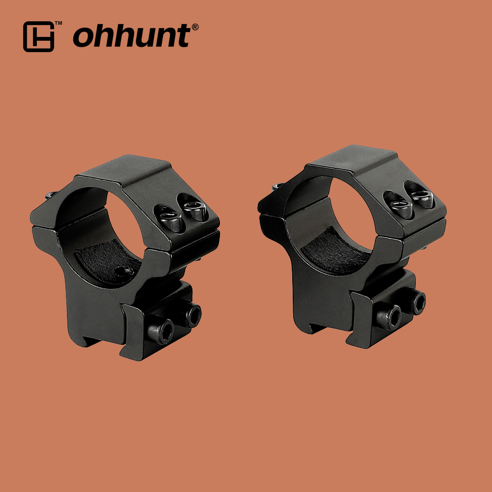 Tactical 1 25 4mm Low Profile Rifle Scope Rings Mount Fit 11mm Dovetail Rail Scope Mounts Accessories