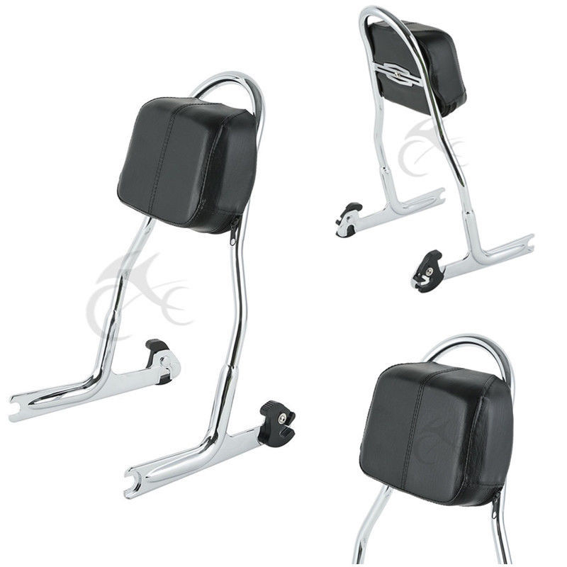 Detachable Passenger Sissy Bar Backrest For Harley Softail Fat Boy Deluxe FLSTN FLSTF FXSTB 2005-2017 Motorcycle
