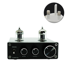 6k4 Tube Headphone Universal Preamp Home Phono Pre Amplifier Aluminium Vacumn