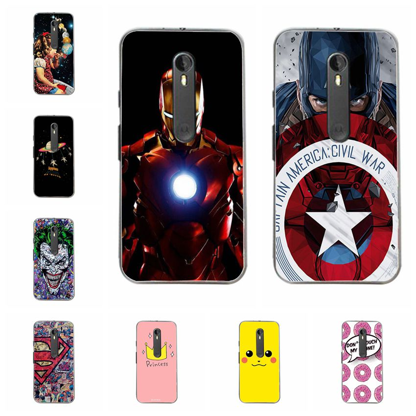 Phone Bags & Cases Starry Sky Moon Earth Case For Motorola Moto G3 Hard Plastic Silicone Phone Capa Back Cover For Moto G3 G 3 Case Fundas 5 Coque For Fast Shipping