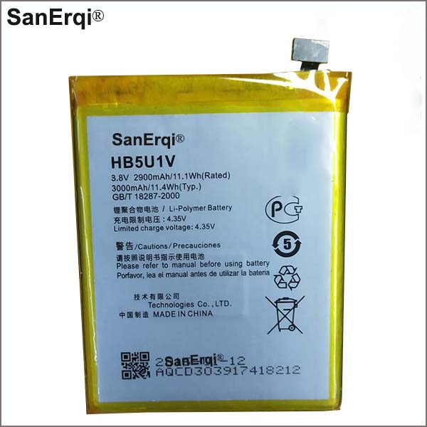 FOR HUAWEI Ascend D2 D2-0082 D2-2010 D2-6070 D2-5000 HB5U1V Rechargeable Li-ion Built-in lithium polymer battery(China)