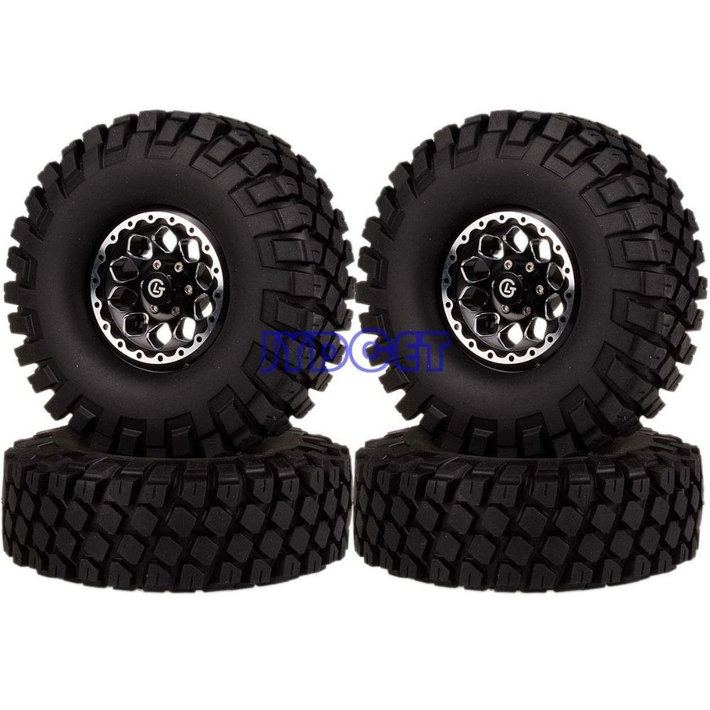 1065-7038  4pcs 1.9 Wheel Rim & 112mm Super Swamper Tyre Tires For RC 1/10 Model Rock Crawler TRX-4 CC011065-7038  4pcs 1.9 Wheel Rim & 112mm Super Swamper Tyre Tires For RC 1/10 Model Rock Crawler TRX-4 CC01