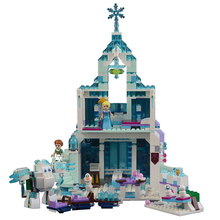 Купить с кэшбэком Le spell 25002 Aisha's magic ice castle castle building blocks toy compatible with Princess Castle Lego  toys