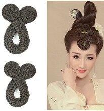 braid bang wig hair chinese ancient princess cosplay accessories dynasty
