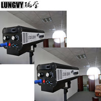 Free Shipping 2pcs Lot High Power 330w Led Follow Spot Light With A Flight Case For