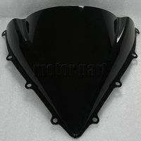 Black Motorcycle Windshield Windscreen For 2012 2017 MV Agusta F3 800 675 RC 13 14 15