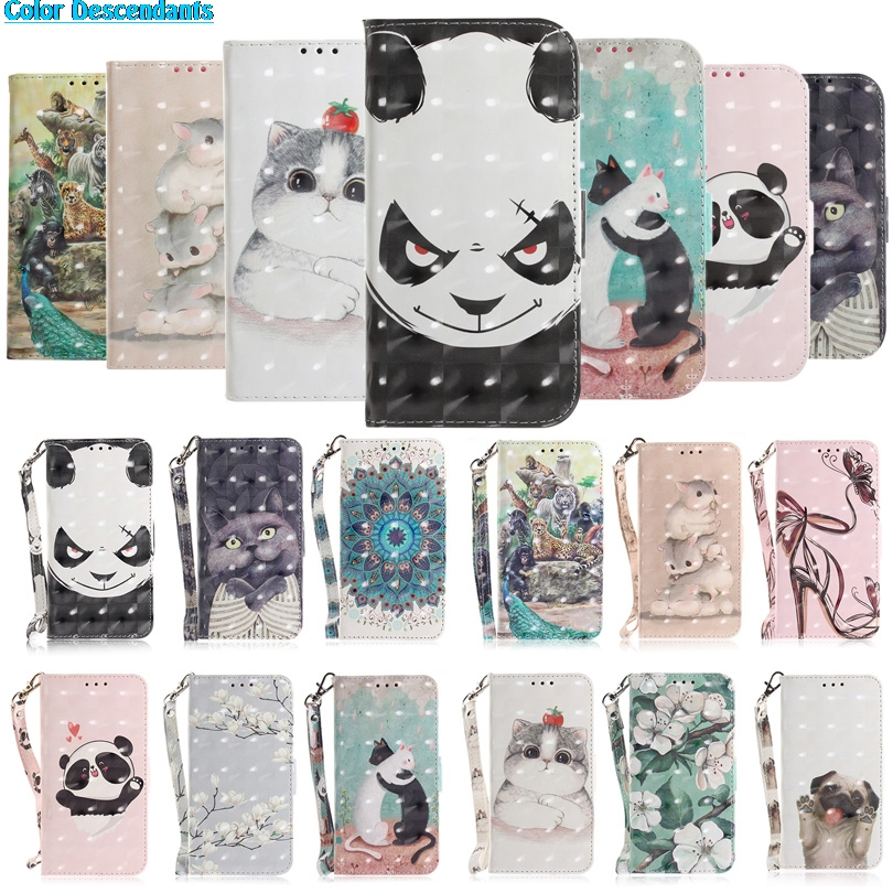 Phone Case For Coque Huawei Honor 7A cases Huawei Y6 2018 Cases Luxury Leather Wallet Card Flip Cover For Honor 7A Case Cover
