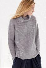 100%Cashmere Gray Camel Sweater Women's Fashion Pullover Thick Solid Natural Fabric High Quality Free Shipping