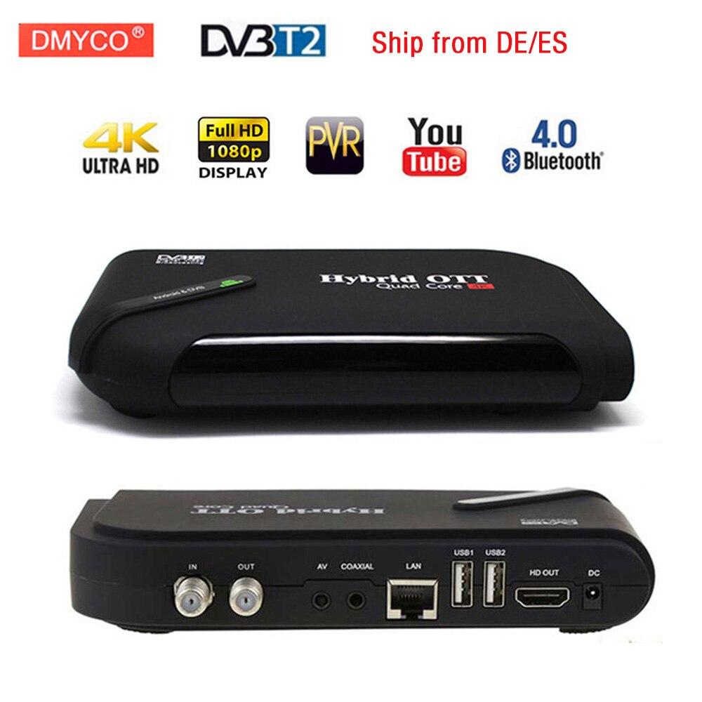 US $44 99 30% OFF|Smart TV Box Android 7 1 OTT&DVB T2 Amlogic S905D Quad  Core dvb t2 TV Tuner Bluetooth 4 0 WIFI MPEG 4 4K Display Set top Box-in
