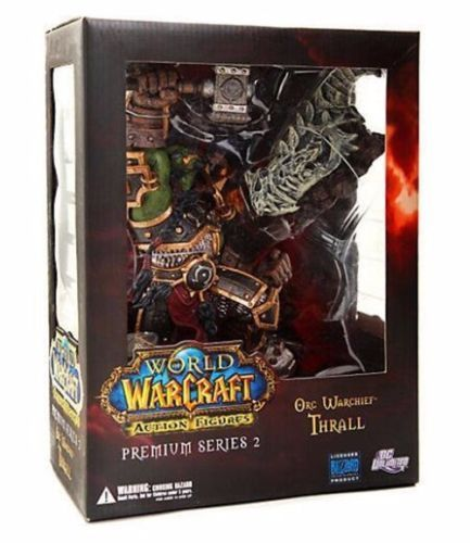 WOW WORLD ORC WARCHIEF THRALL ACTION FIGURES MODEL STATUE FIGURINES TOY Anime Figure Collectible Model Toy dc wow thrall the orc shamman action figure toys thrall the orc shamman doll pvc acgn figure collectible model toy brinquedos
