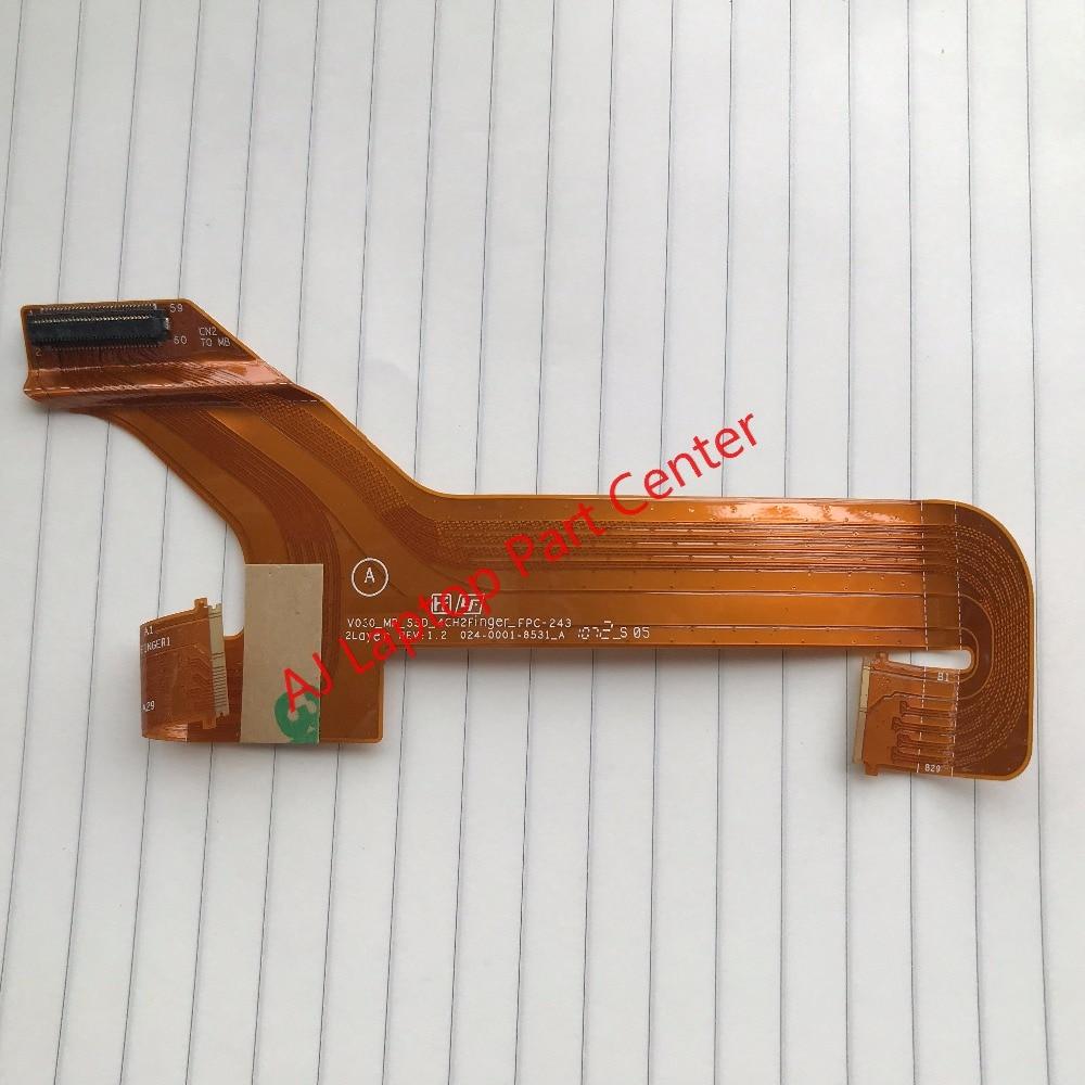 Оригинальный Для SONY VPC SA SB SC, SD кабель жесткого диска HDD кабель V030_MP_SSD_4CH2FINGER_FPC-243 024-0001-8531_A FPC-243