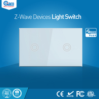 NEO Coolcam Smart Home Z Wave Plus 2CH US Light Switch Compatible With Z Wave 300