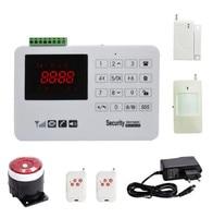 Multi Langauge Keyboard Control GSM Alarm System
