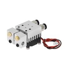 3D Chimera Hotend Kit 2 In 2 Out Extruder Multi-Extrusion All Metal V6 Dual Single Extruder 0.4Mm/1.75Mm 3D Printer Parts autoleveling he3d k200 delta 3d printer kit diy printer single nozzle extruder support multi material