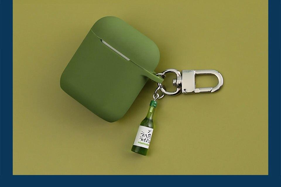 Garrafa de vinho fresco decorativo silicone caso