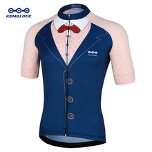 2018 قميص أزرق صيفي قصير الأكمام لركوب الدراجات Ciclismo قميص سباق للرجال في الهواء الطلق أطقم قميص فريق ساوثجيت لراكبي الدراجات الهوائية