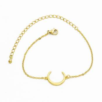 2018 New Arrival Gold silver Moon Star Charms Bracelet for Women Fashion Accessories Bracelets & Bangles Free Shipping 1