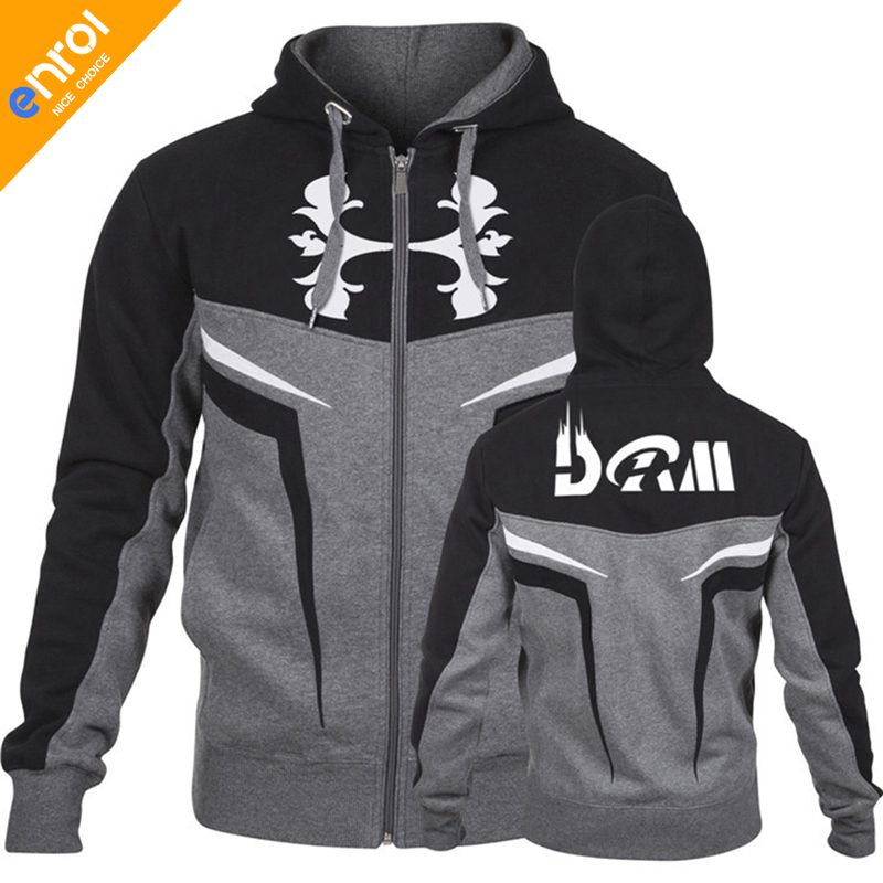 Doctor Muscle Training And Exercise Jackets Windproof Thermal Gym Coat Zipper Hoddies High Quality