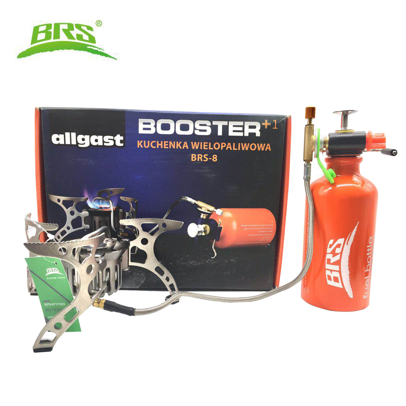 BRS Outdoor Kerosene Stove Burners and Portable Oil Gas Multi Fuel Stoves Camping Cooking Stove For
