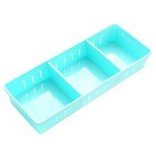 Регулируемый органайзер для ящиков, разделитель для домашней кухни, коробка для хранения косметики, ювелирные изделия в форме карандашей, органайзер, размер L и S
