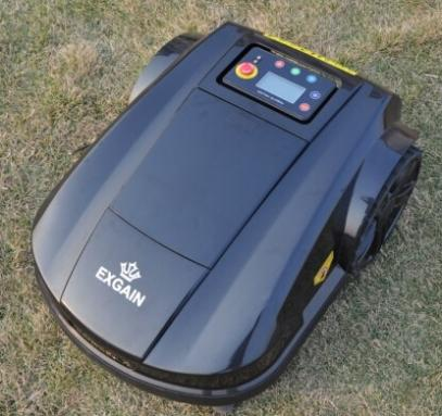 Rasenroboter Waterproof Robot Mower With 4 Blades Auto Robot Lawn Mower Recharged Garden Lawn Mower With Remote Controller S520
