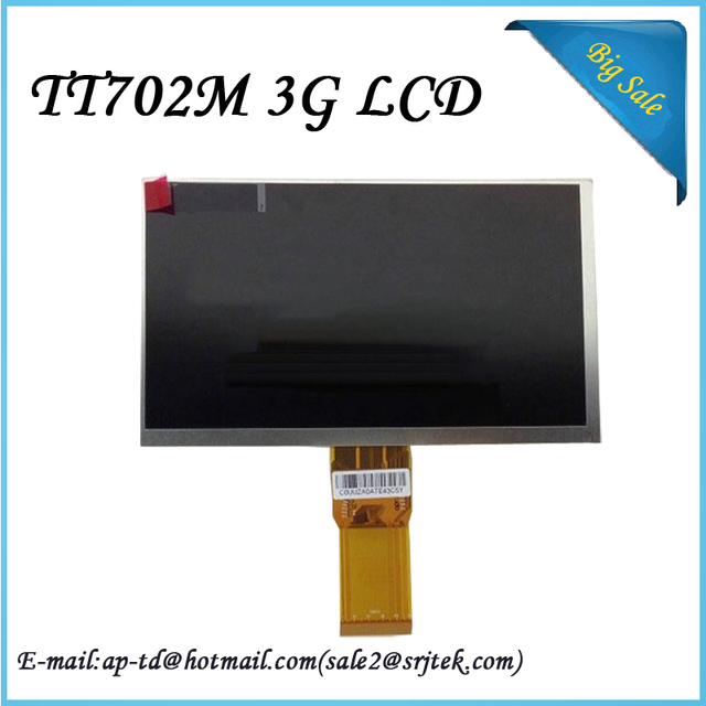 High Quality 7 inch For Digma Plane TT702M 3G LCD Display Screen+Tools