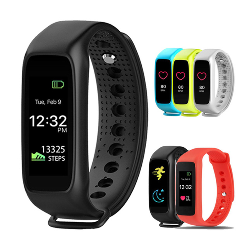 New L30t Bluetooth Smart Band Dynamic Heart Rate Monitor Full color TFT-LCD Scre