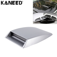 KANEED Car Air Intake Flow Hood Vent Fender Decoration Car Turbo Style Air Intake Bonnet Scoop