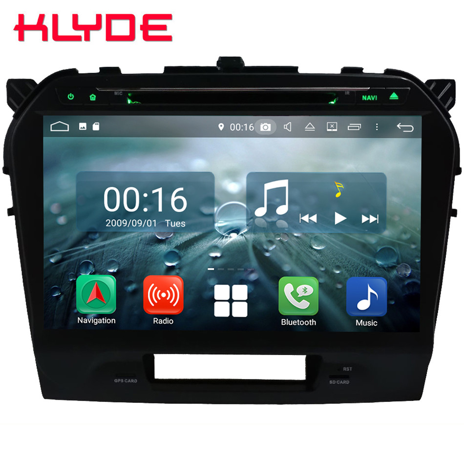 10,1 ips Octa Core 4G Android 8,1 4G B оперативная память 6 4G Встроенная RDS BT DVD мультимедийный плеер радио головное устройство для Suzuki Vitara 2015 2016