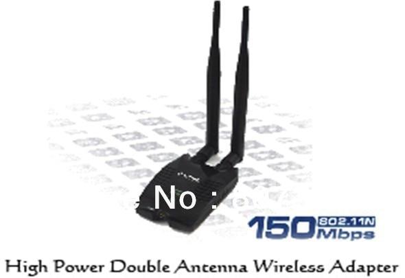 wholesale High-Power 150M Wireless USB Adapter WIFI 150M 11N High Power 500mw Wireless WIFI USB adapter,high power wifi lan card