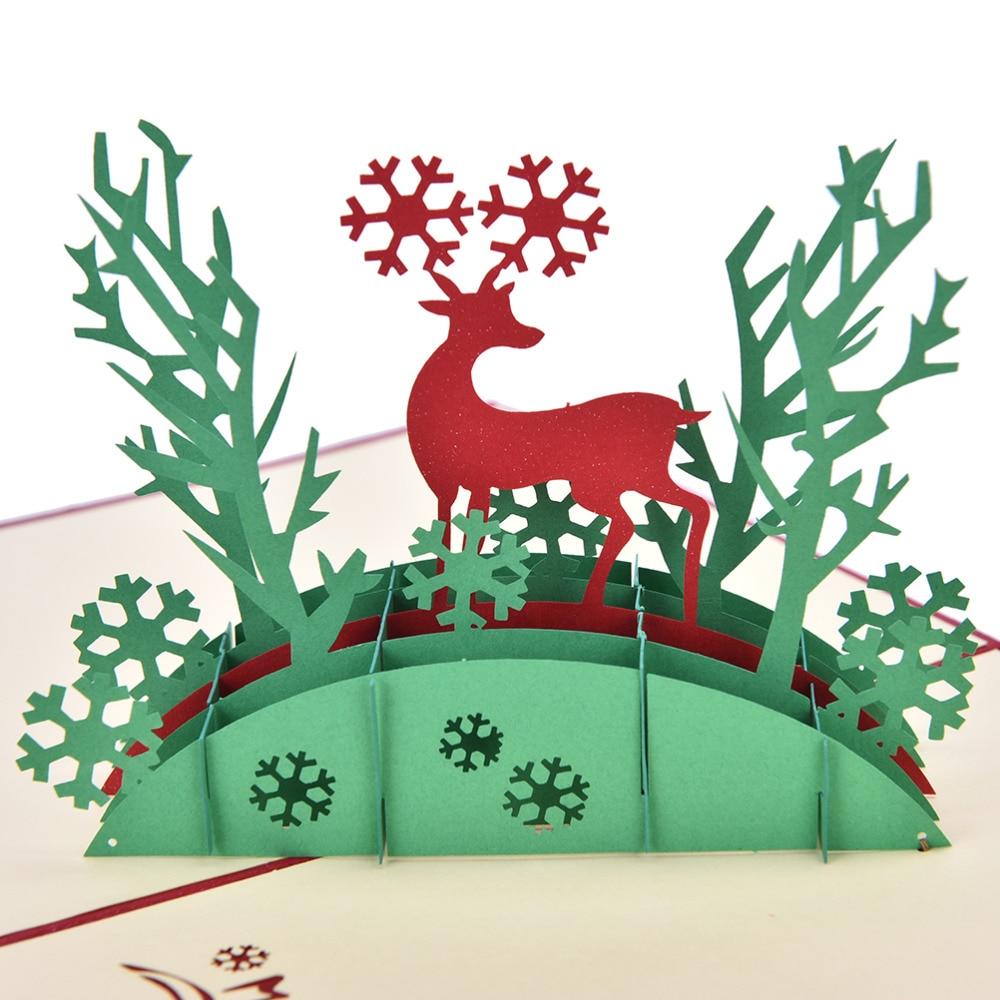 Vintage Renos De Navidad Personalizado Invitaciones De