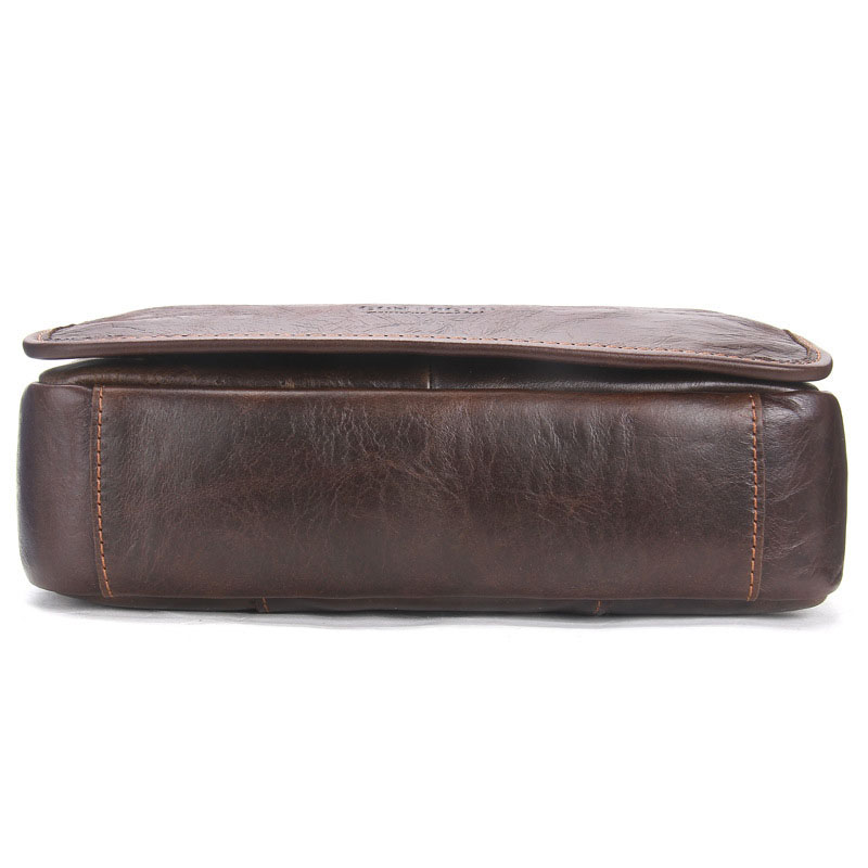 Men Genuine Leather Messenger Travel Bag Shoulder bags Casual Fashion male man Crossbody bags for Messenger men Leather bags