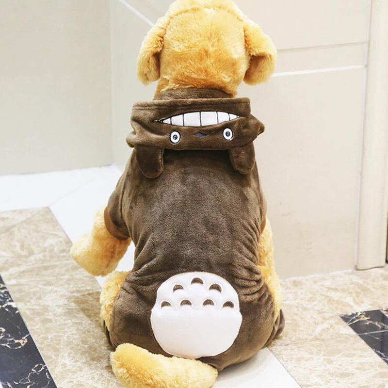 Warm Pet Dog Clothes For Golden Retriever Large Dogs Cartoon Dog Costume Puppy Coat Hooded Jacket & Dog Costumes For Big Dogs u0026 Big Dog Rasta Dog Costume Sc 1 St BaxterBoo