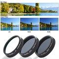 ND4 + ND8 + Filtro UV para Lente de cámara para DJI Phantom 4 3 Profesional Avanzado RC160