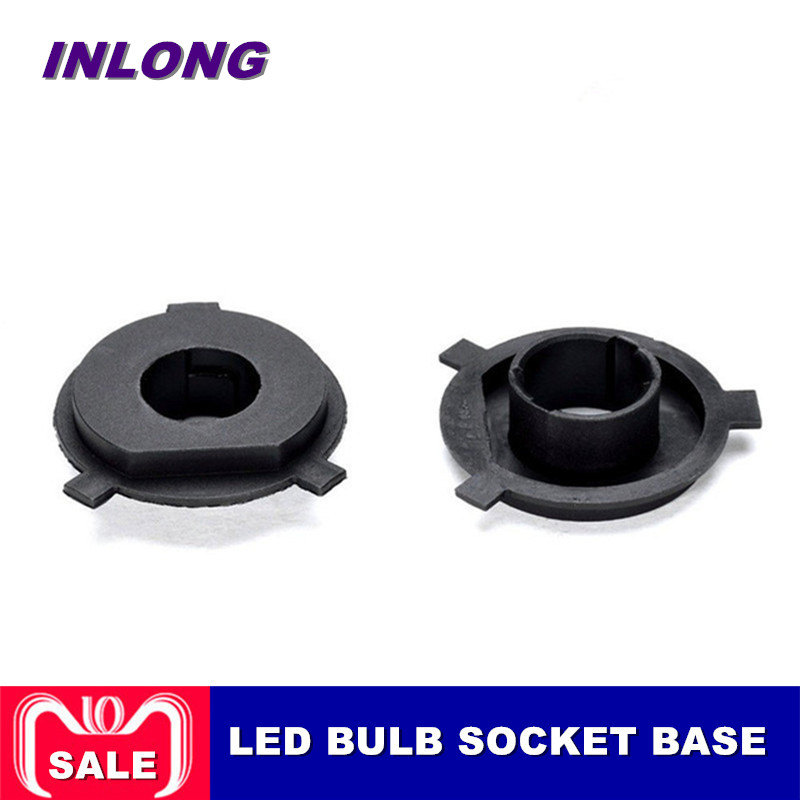 Car Lights Automobiles & Motorcycles 2pcs Car Led Headlight Bulb Adapter Holder Base Sockets Retainer For H1 H3 H4 H7 H11 H13 9004 9005 9006 9007