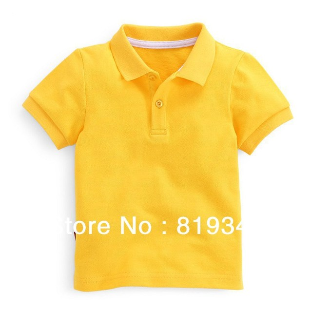 2013 NEW VANCL Boys 80-140 Noah Plain Polo 100% Cotton Summer Wear Classic Style Soft Natural Multi Colors FREE SHIPPING