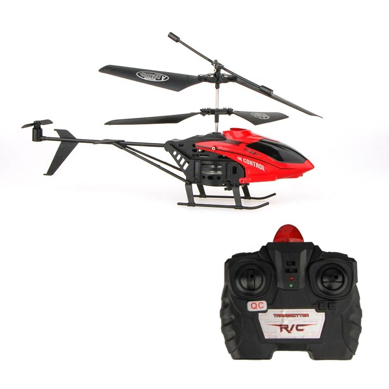 игрушки Вертолет 2 CH 2 канала мини Радиоуправляемый Дрон с гироскопом устойчивостью аварии RC игрушки для мальчика подарок квадрокоптер игру...