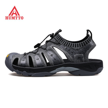 HUMTTO Mens Outdoor Summer Hiking Trekking Sandals Shoes Sneakers For Men Barefoot Beach Water Man