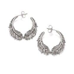 925 brincos de penas de prata esterlina brincos de orelha, brinco de moda europeia jóias brincos românticos earstuds presente para mulheres